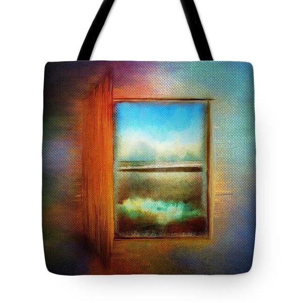 Window To Anywhere Tote Bag
