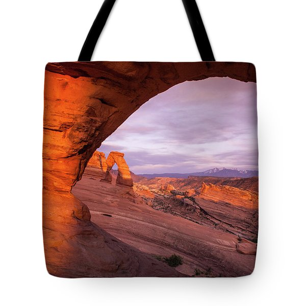 Window To Arch Tote Bag