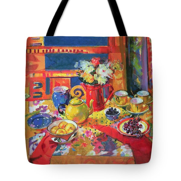 Window To Cannes Tote Bag