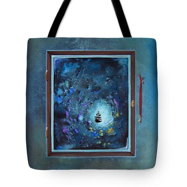 Window To Genesis Tote Bag