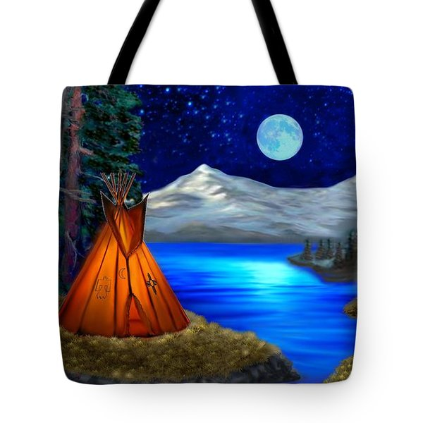 Window To Heaven Tote Bag