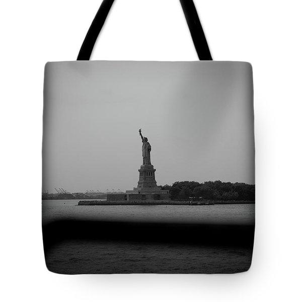 Window To Liberty Tote Bag