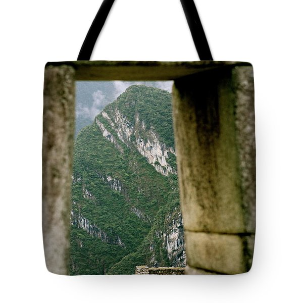 Window To The Gifts Of The Pachamama Tote Bag