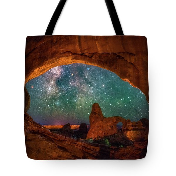 Window To The Heavens Tote Bag