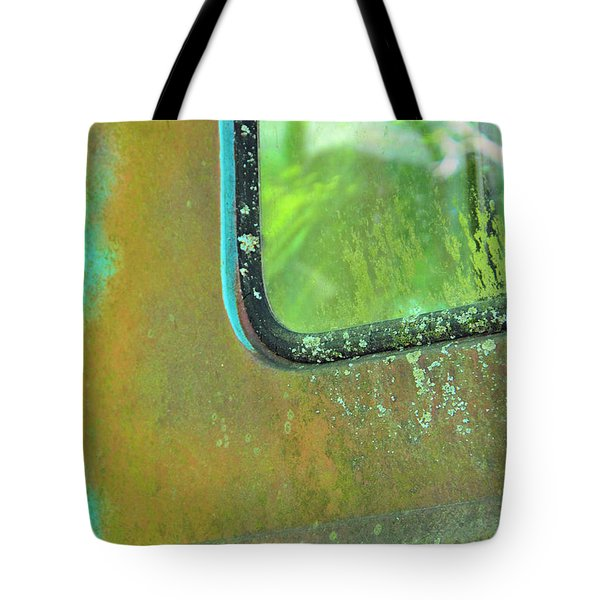 Window To The Past Tote Bag by Jan Amiss Photography