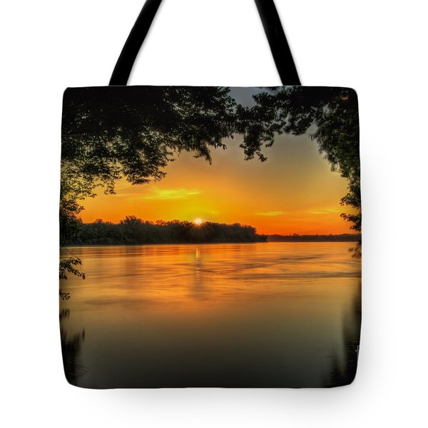 Window To The River Tote Bag