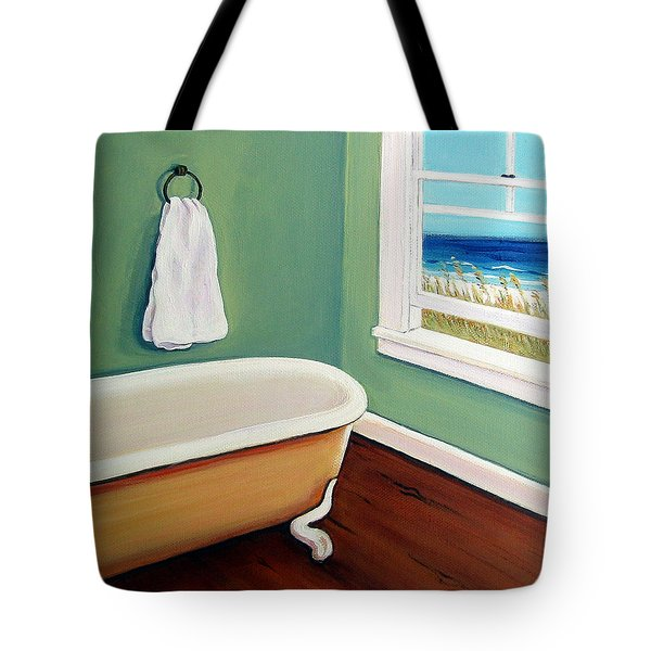 Window To The Sea No. 4 Tote Bag