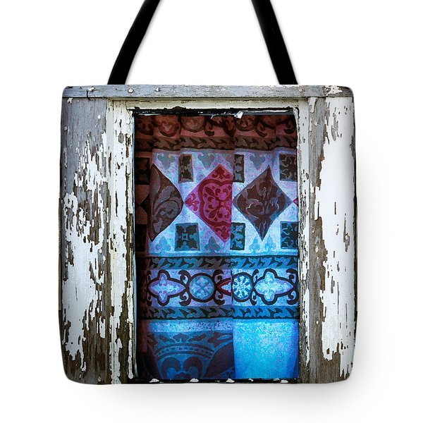 Window Toward The Sea Tote Bag