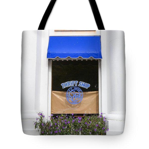 Window Trimming Tote Bag
