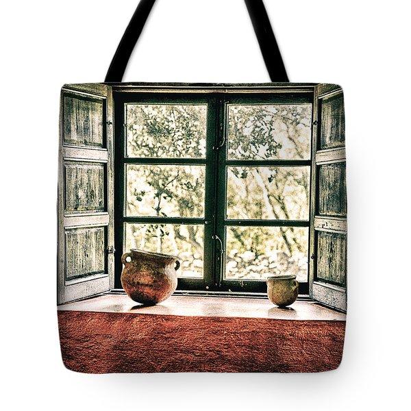 Window View Tote Bag