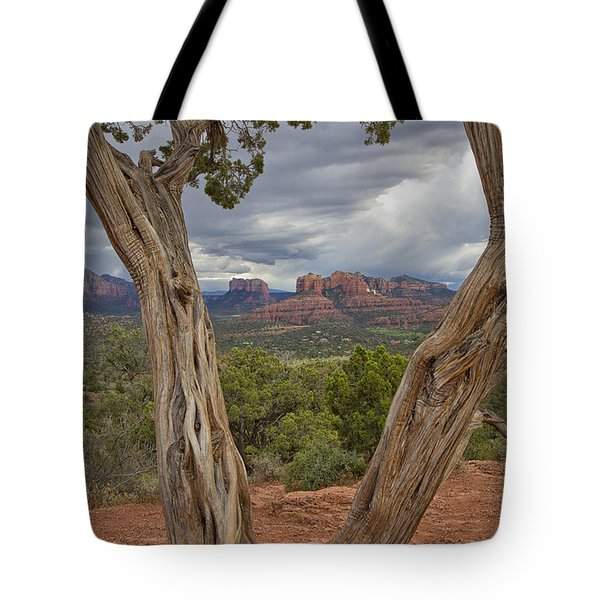 Window View Tote Bag by Tom Kelly