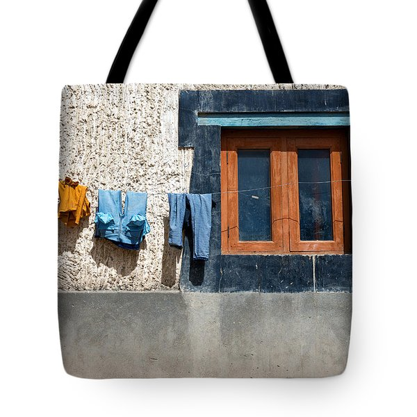 Tote Bag featuring the photograph Window by Yew Kwang