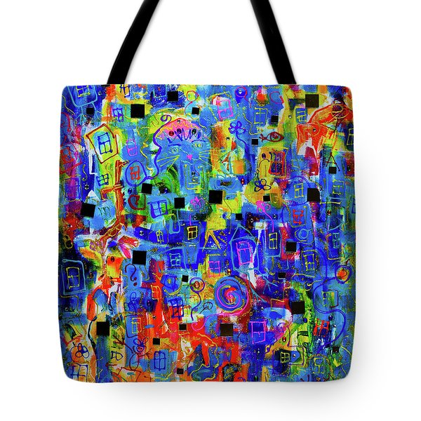 Windows And Mirrors Tote Bag