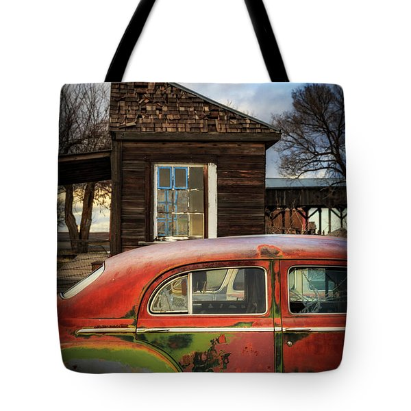 Tote Bag featuring the photograph Windows by Cat Connor
