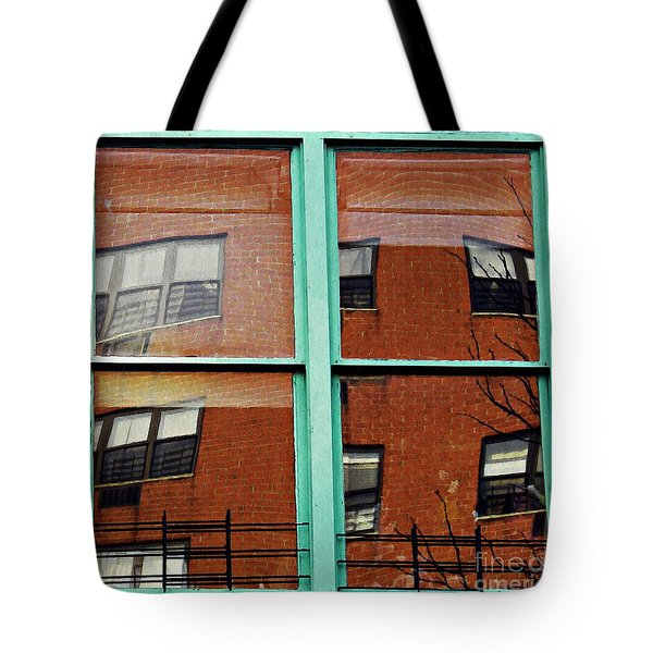Windows In The Heights Tote Bag by Sarah Loft
