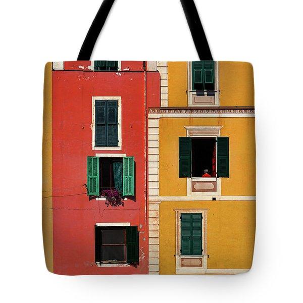 Windows Tote Bag by Marji Lang
