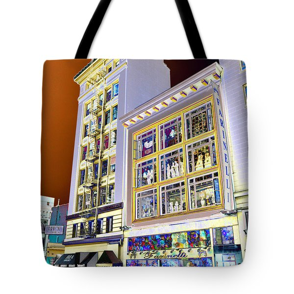 Windows On Exibition Tote Bag