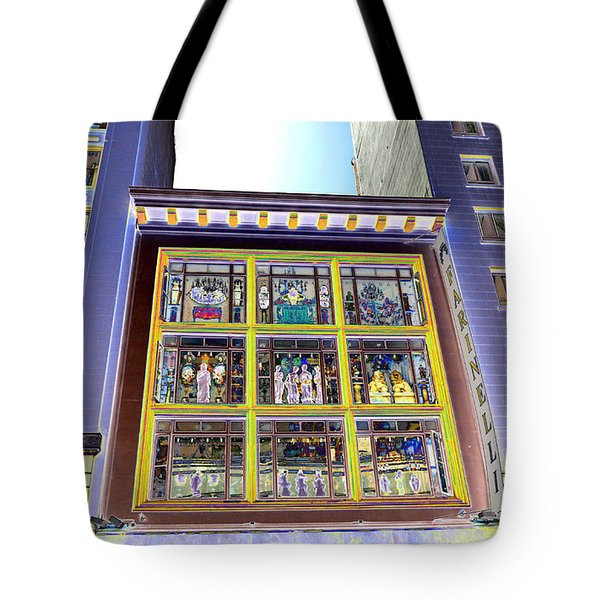 Windows On Exibitions Tote Bag