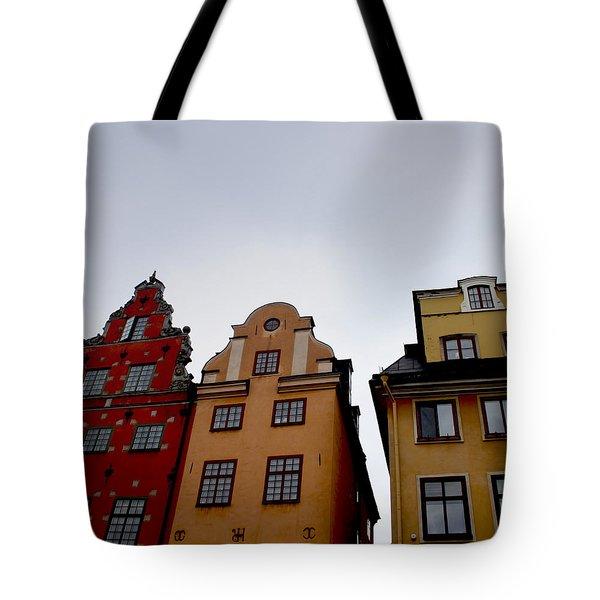 Windows On Gamla Stan Tote Bag
