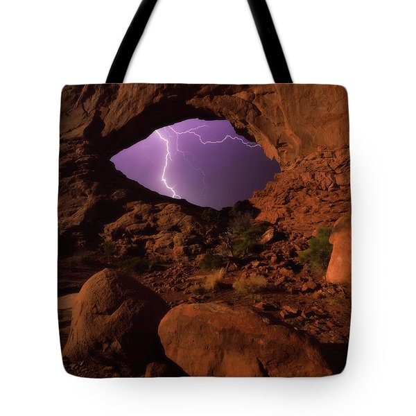 Windows Storm Tote Bag by Darren White