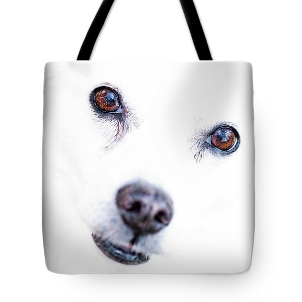 Tote Bag featuring the photograph Windows To The Soul by Lara Ellis