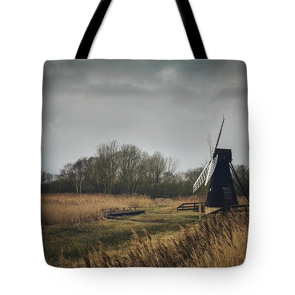 Tote Bag featuring the photograph Windpump by James Billings