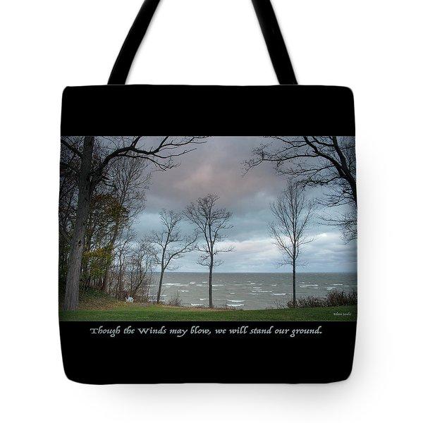 Winds May Blow Tote Bag
