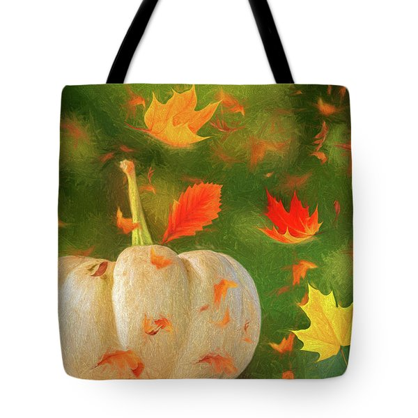 Winds Of Autumn Tote Bag