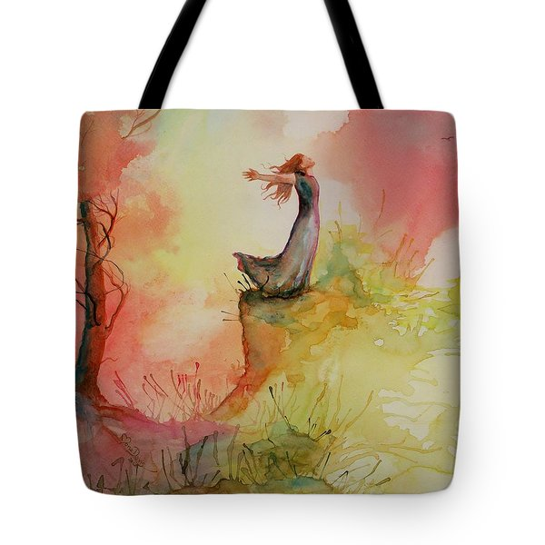 Winds Of Freedom Tote Bag by Mona Davis
