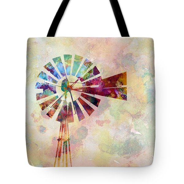 Winds Of Iowa Tote Bag