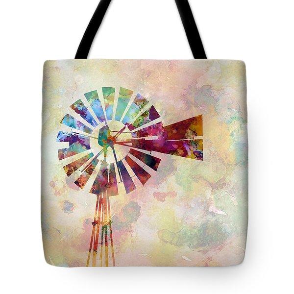 Winds Of Iowa Tote Bag