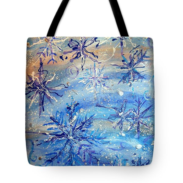 Winds Of Winter Tote Bag