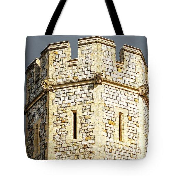 Windsor Castle Detail Tote Bag