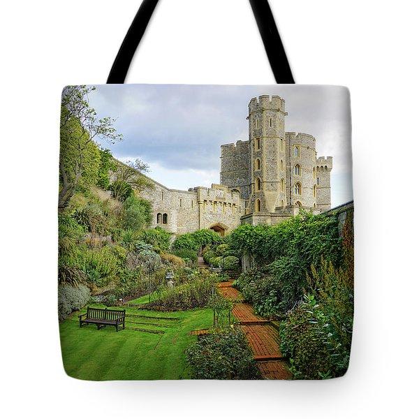 Windsor Castle Garden Tote Bag