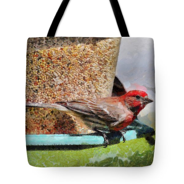 Windsor House Finch Tote Bag