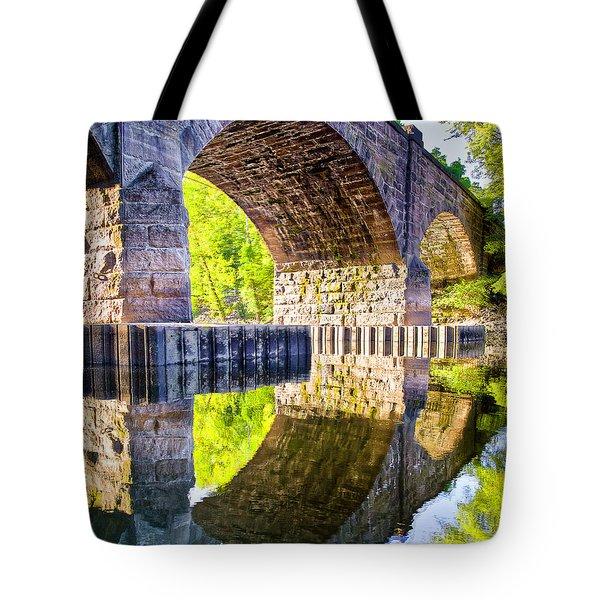 Windsor Rail Bridge Tote Bag