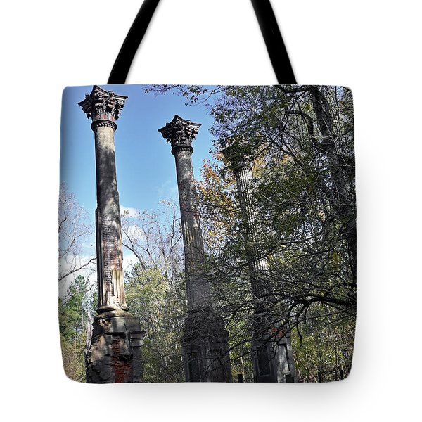 Windsor Ruins Tote Bag