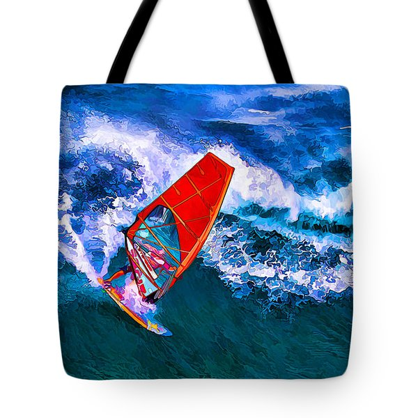 Windsurfer Joy Tote Bag