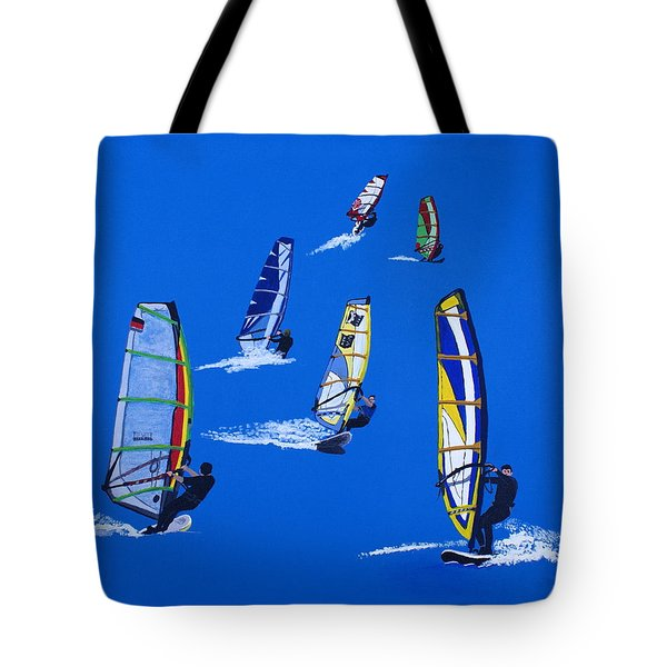 Windsurfers Tote Bag