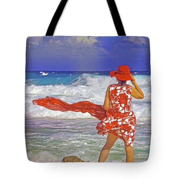 Windswept Tote Bag by Dennis Cox WorldViews