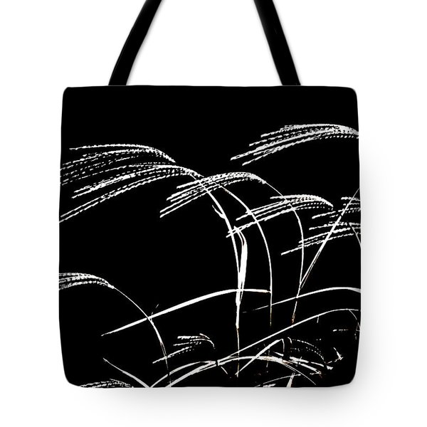 Tote Bag featuring the photograph Windswept Grasses by Gerlinde Keating - Galleria GK Keating Associates Inc