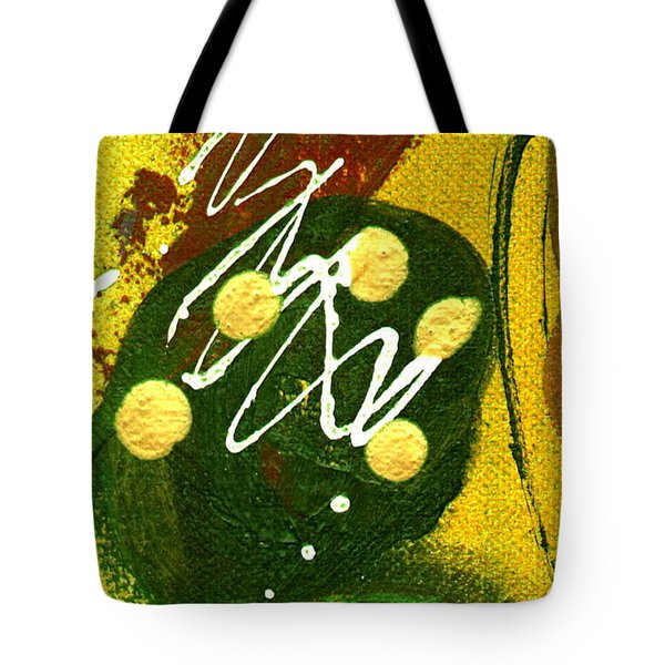 Tote Bag featuring the painting Windswept I by Angela L Walker
