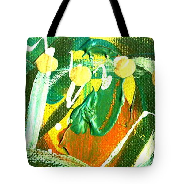 Tote Bag featuring the painting Windswept IIi by Angela L Walker