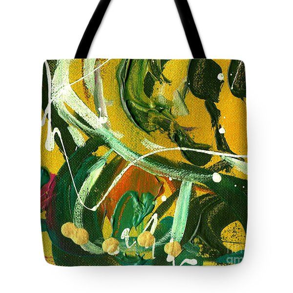 Tote Bag featuring the painting Windswept Iv by Angela L Walker