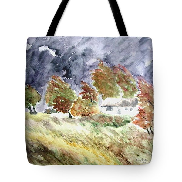 Windswept Landscape Tote Bag