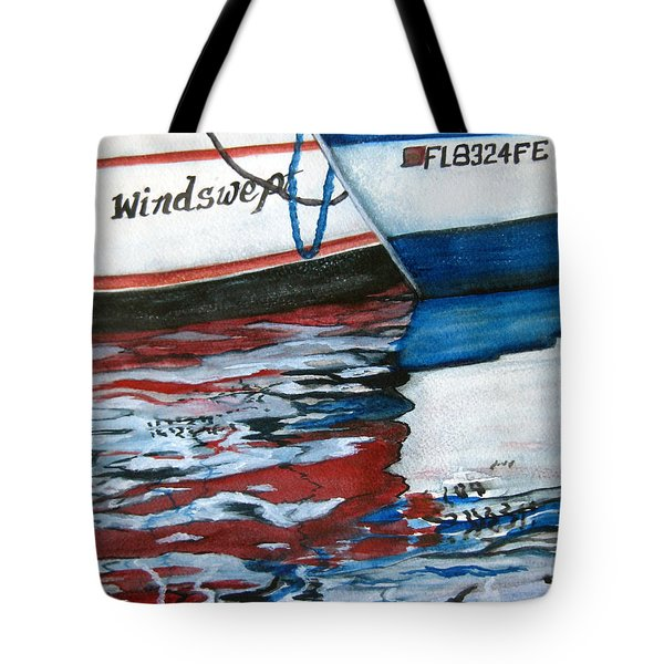 Windswept Reflections Sold Tote Bag by Lil Taylor