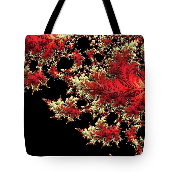 Tote Bag featuring the digital art Windswept by Susan Maxwell Schmidt