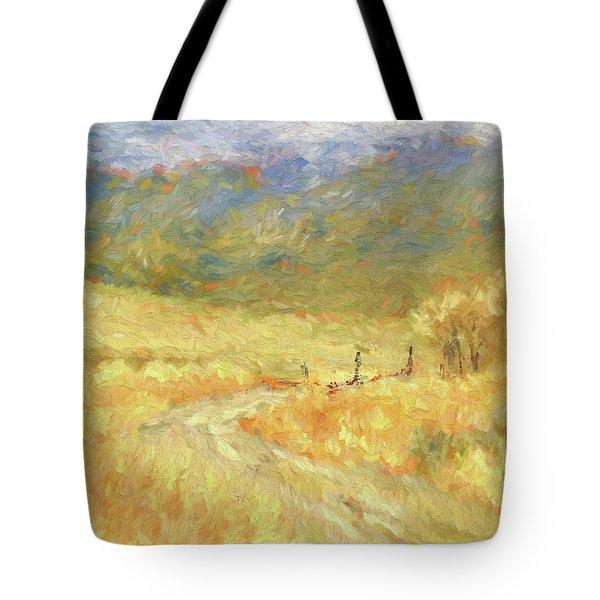 Windy Autumn Dop Tote Bag
