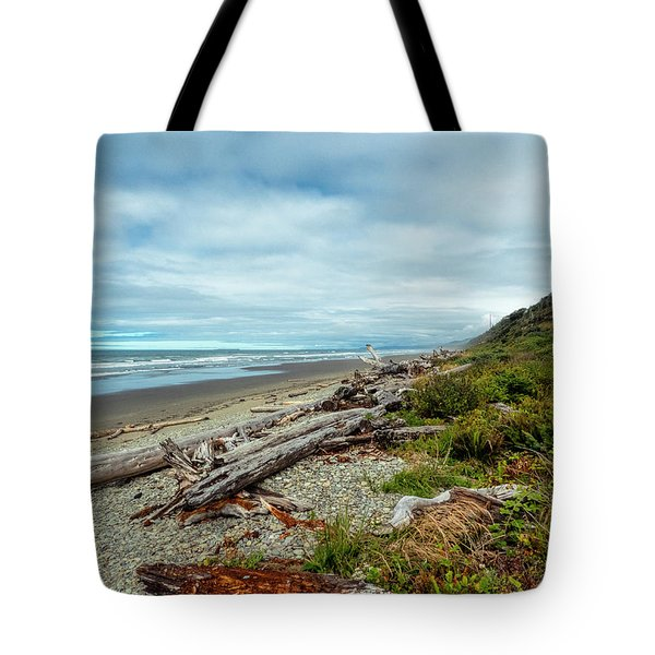 Tote Bag featuring the photograph Windy Beach In Oregon by Michael Hope