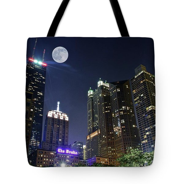 Windy City Tote Bag by Frozen in Time Fine Art Photography
